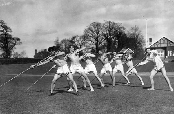 Teaching Photograph - Javelin Instruction by David Savill