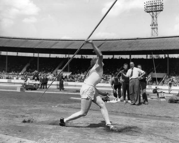 Javelin Photograph - Javelin Record by Douglas Miller