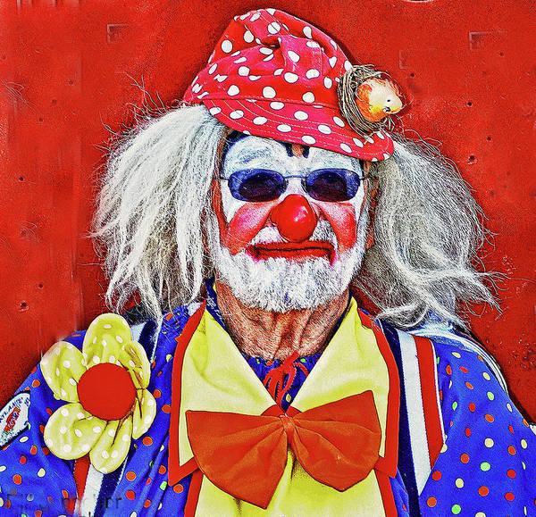 Photograph - Jay Bird The Clown by Bill Jonscher