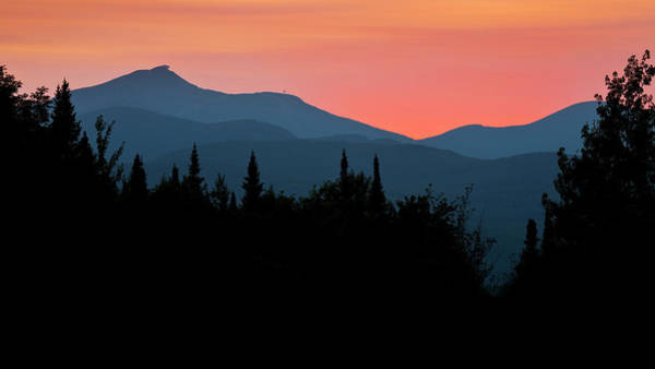 Aerial Tramway Wall Art - Photograph - Jay Peak Colorful Sunset by Alan L Graham