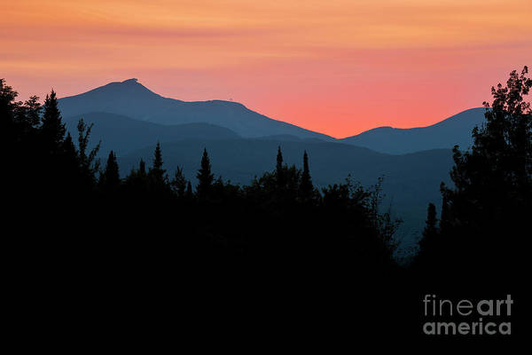 Aerial Tramway Wall Art - Photograph - Jay Peak Midsummer Sunset by Alan L Graham