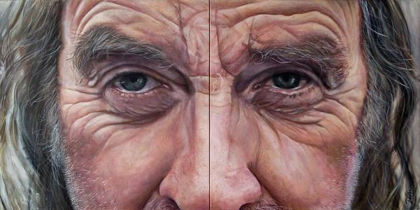 Clovis Painting - Jay's Third Eye by Clovis Rusk