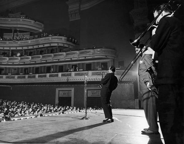 Photograph - Jazz At The Philharmonic At Carnegie by Gjon Mili