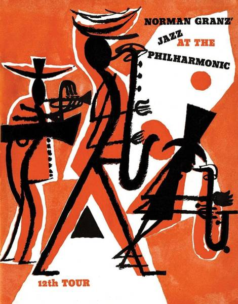 Wall Art - Digital Art - Jazz At The Philharmonic by Unknown