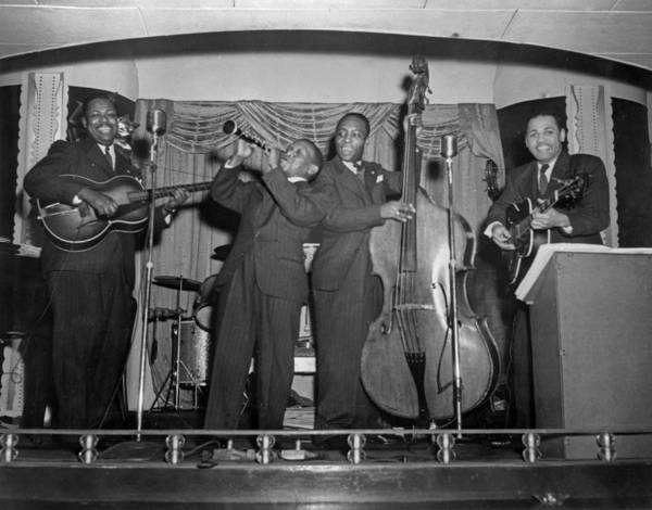 African American Museum Photograph - Jazz by Chicago History Museum
