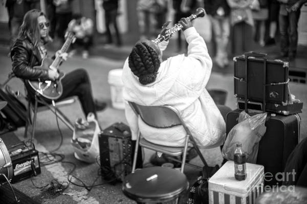 Photograph - Jazz Clarinet On Royal Street New Orleans by John Rizzuto