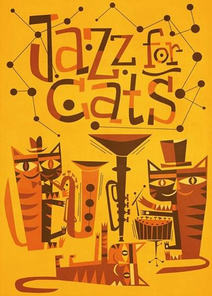 Wall Art - Digital Art - Jazz For Cats by Unknown