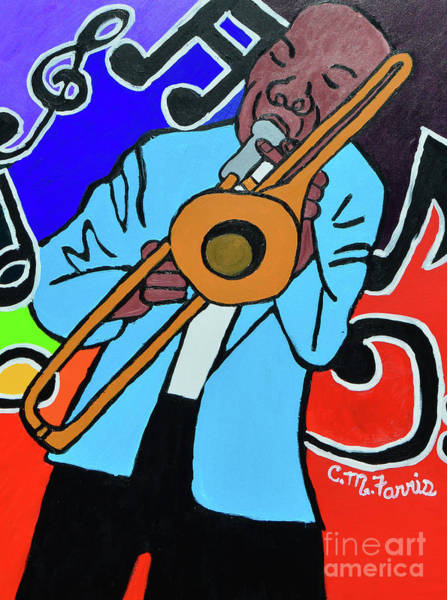 Painting - Jazz It  Up by Christopher Farris