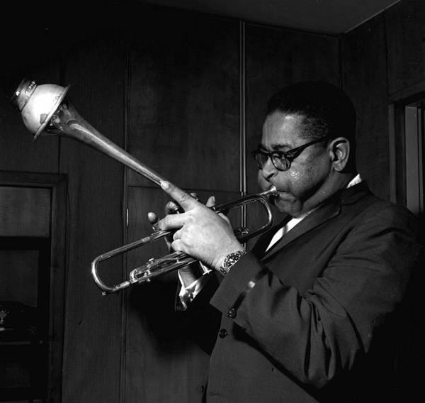 Jazz Music Photograph - Jazz Musician Dizzy Gillespie Playing by Popperfoto