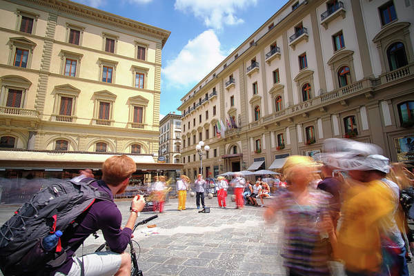 Photograph - Jazz On The Piazza Repubica by Matthew Pace
