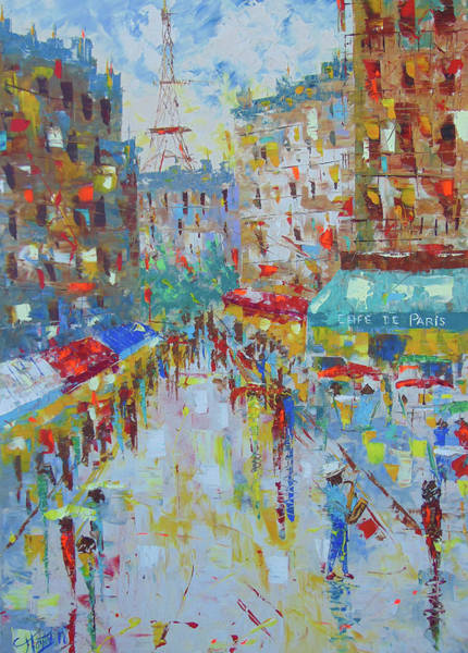 Painting - Jazz Paris by Frederic Payet