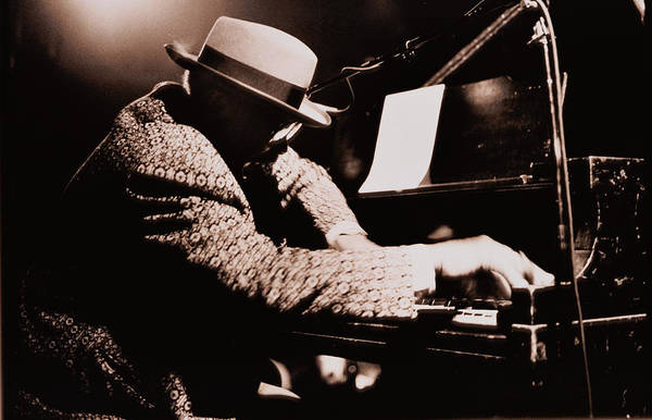 Panama Photograph - Jazz Pianist Wearing Hat by Rieder & Walsh