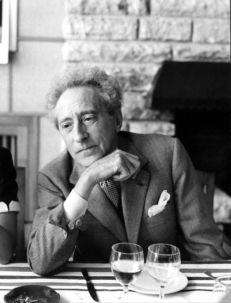 Photograph - Jean Cocteau - by Serge De Sazo