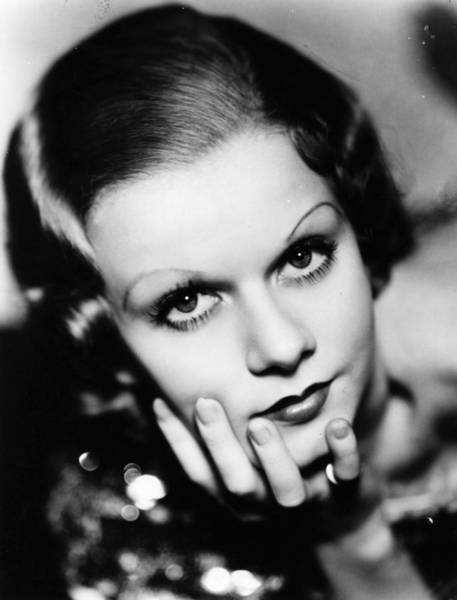 Bleached Photograph - Jean Harlow by General Photographic Agency