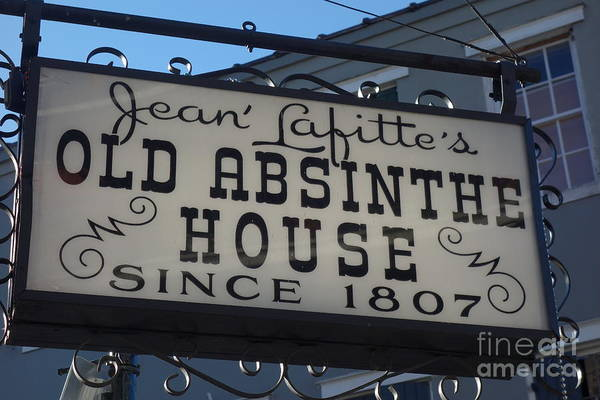 Photograph - Jean Lafitte's Old Absinthe House  -  French Quarter by Susan Carella