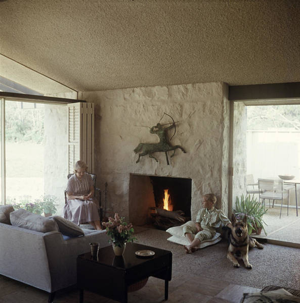 Ranch Photograph - Jean May & Daughter At Home by Gordon Parks