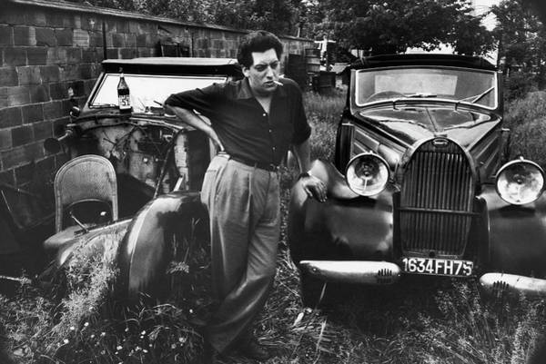 Photograph - Jean-paul Riopelle by Loomis Dean