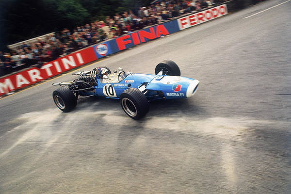 Belgium Photograph - Jean-pierre Beltoise Driving A Matra by Heritage Images