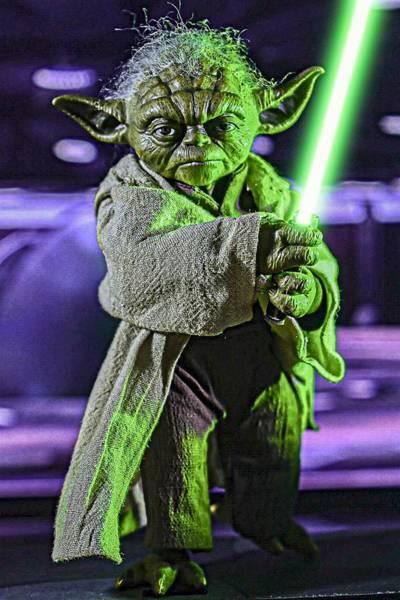 Photograph - Jedi Master Yoda by Jeremy Guerin