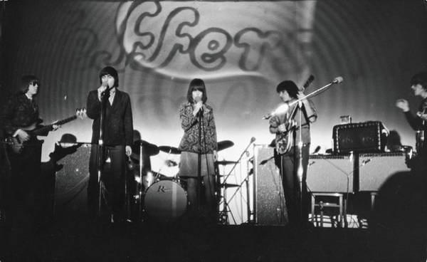 Concert Hall Photograph - Jefferson Airplane At The Fillmore East by Fred W. McDarrah