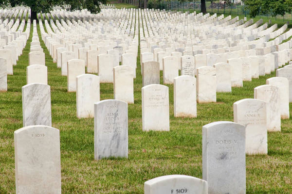 Photograph - Jefferson Barracks National Cemetery by Steve Stuller
