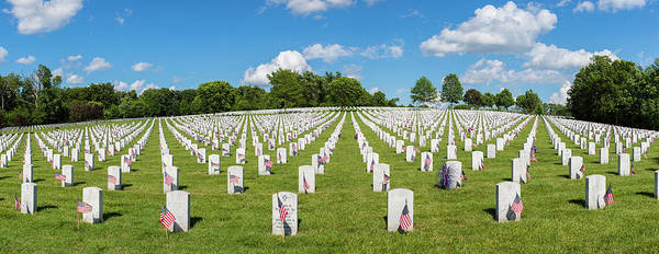 Famous Cemeteries Photograph - Jefferson Barracks National Cemetery by Panoramic Images