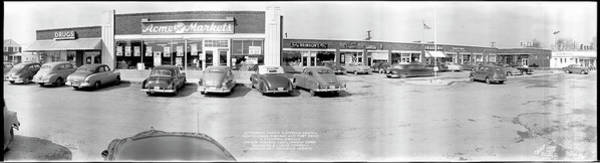 Wall Art - Photograph - Jefferson Manor Shopping Center, North by Fred Schutz Collection