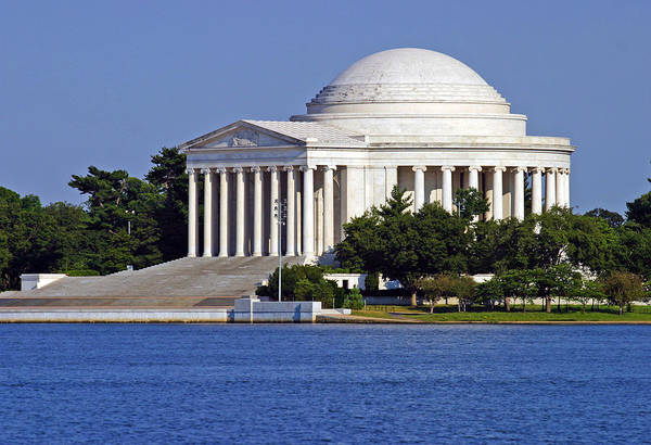 Photograph - Jefferson Memorial by Anthony Jones