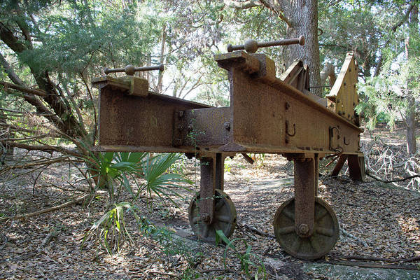 Photograph - Jekyll Island Spanish American Era War Battery by Bruce Gourley