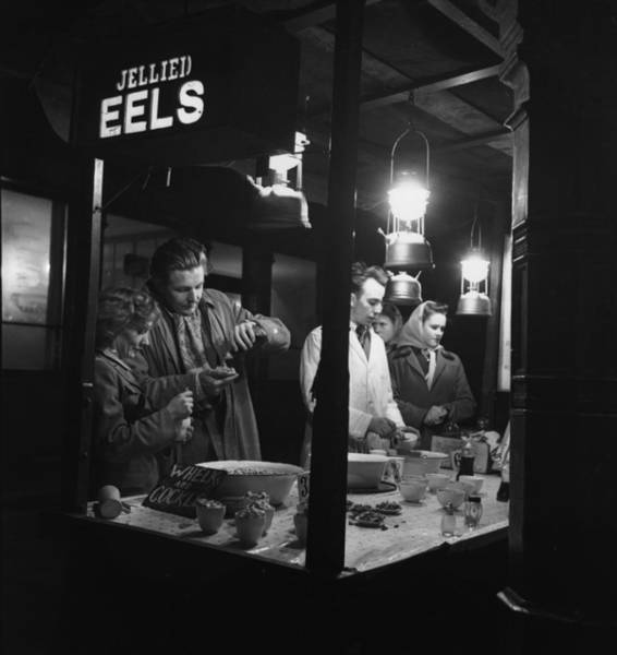 Service Photograph - Jellied Eel Stall by Picture Post