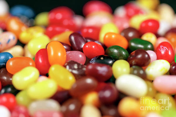 Photograph - Jelly Bean Colors by John Rizzuto