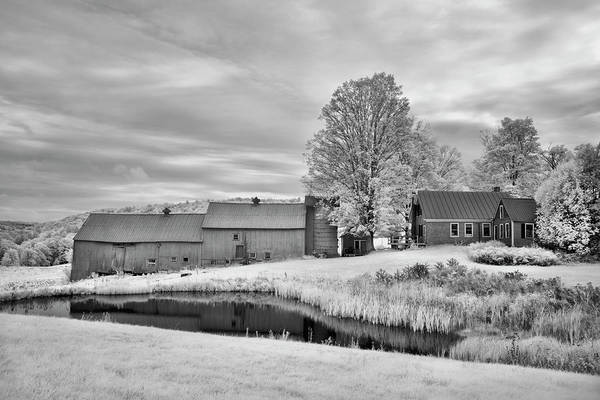 Wall Art - Photograph - Jenne Farm Infrared Barn by Luke Moore