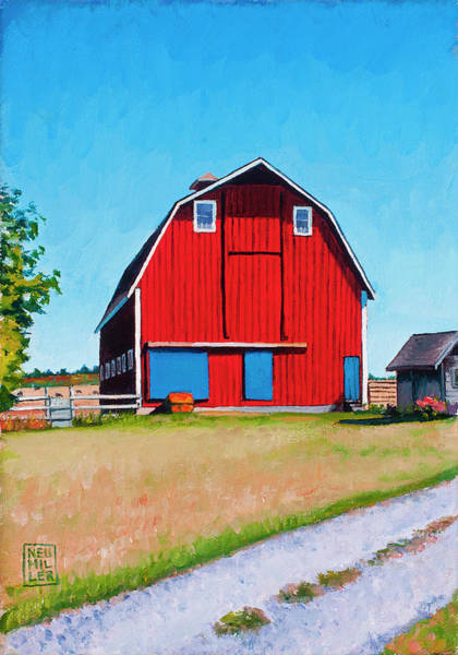 Wall Art - Painting - Jenne Farm by Stacey Neumiller