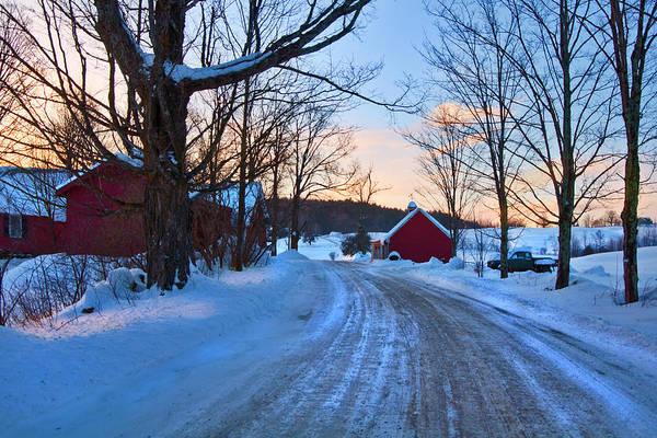 Photograph - Jenne Farm Sunrise - Woodstock, Vt. by Joann Vitali