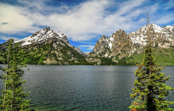 Photograph - Jenny Lake Grand Teton National Park Vista by Dan Sproul