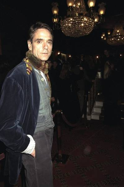 Jeremy Photograph - Jeremy Irons Attending The Premiere Of by New York Daily News Archive