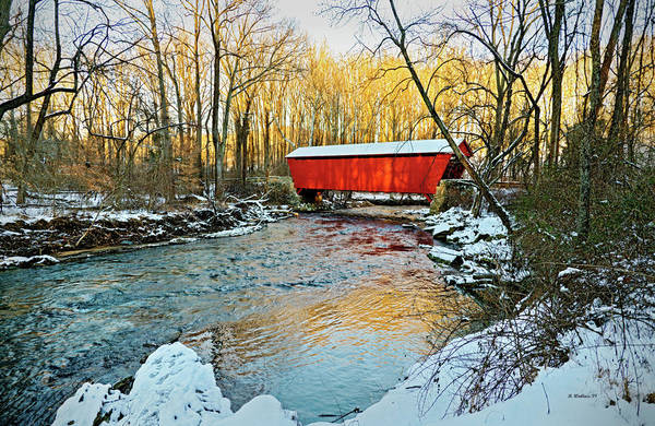 Kingsville Photograph - Jericho Covered Bridge by Brian Wallace