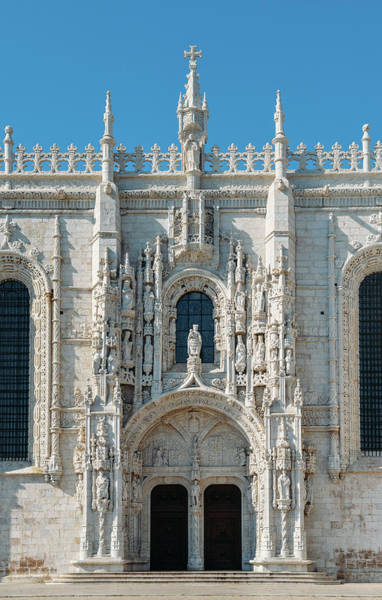 Photograph - Jeronimos Monastery, Portugal by Alexandre Rotenberg