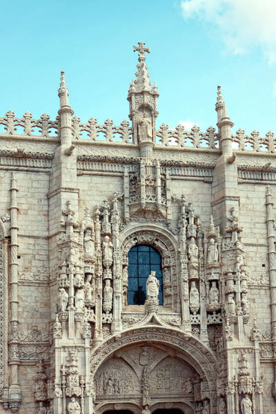 1604 Photograph - Jeronimos Monastery by Sally Weigand