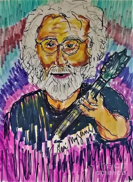 Wall Art - Mixed Media - Jerry Garcia  by Geraldine Myszenski