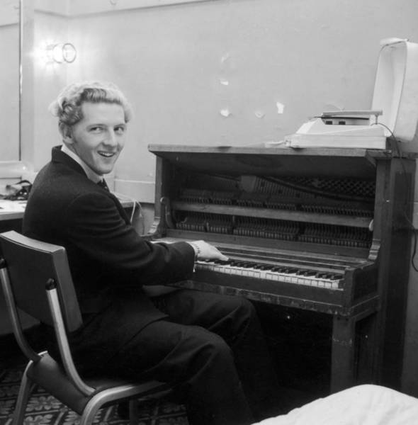 Rock Music Photograph - Jerry Lee Lewis by Hulton Archive