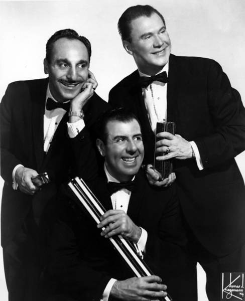 Harmonica Photograph - Jerry Murads Harmonicats Portrait by Michael Ochs Archives