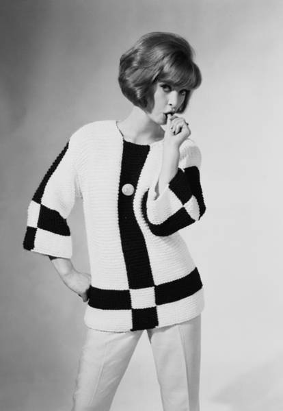 Sweater Photograph - Jersey Girl by Chaloner Woods