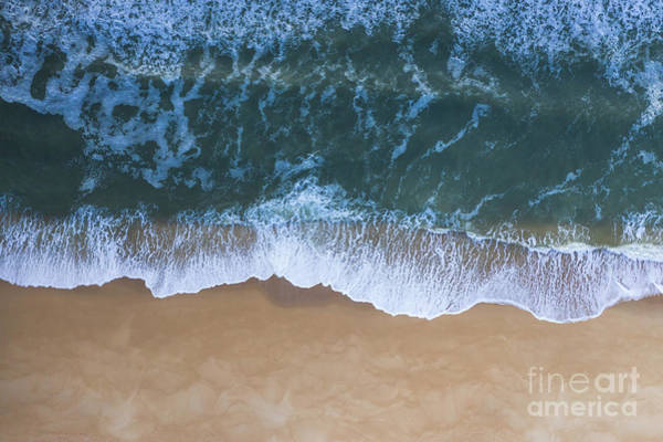 Photograph - Jersey Shore From Above by Michael Ver Sprill