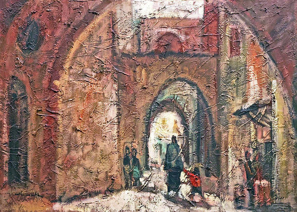 Wall Art - Photograph - Jerusalem Old City Arches by Munir Alawi
