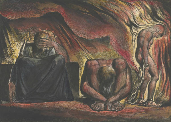 Drawing - Jerusalem, Plate 51 by William Blake