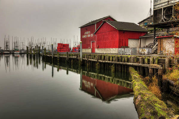 Photograph - Jessies Ilwaco Fish Co by Mark Kiver