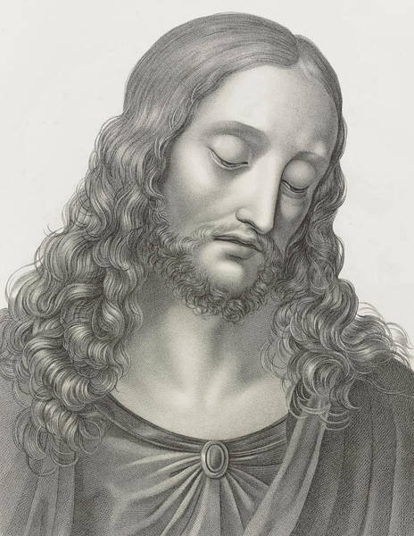 Wall Art - Painting - Jesus, 1808 by Andre Dutertre