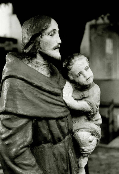 Photograph - Jesus And His Father by Shaun Higson