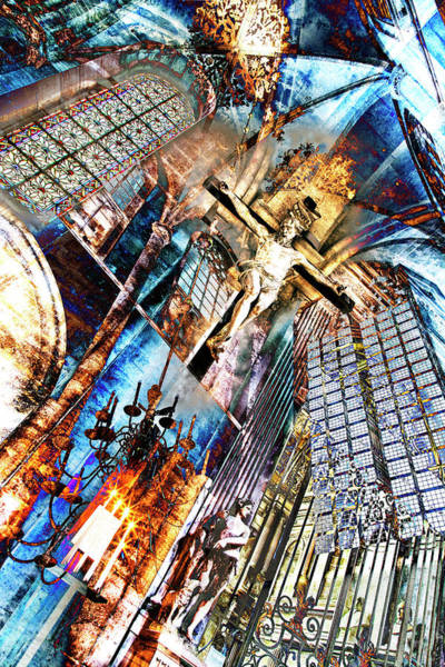 Jesuschrist Digital Art - Jesus Christ Superstar 2.0 by 2bhappy4ever